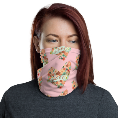 Floral Pilates Face Mask/Headband