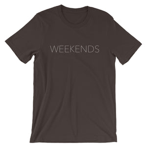 Weekends Are For Pilates Short-Sleeve Unisex T-Shirt