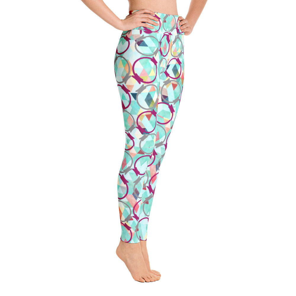 Magic Circle High Waisted Leggings