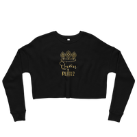 Queen of Pilates! Crop Sweatshirt