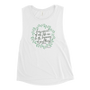 Every Moment Of Our Life Can Be The Beginning Of Great Things- Joseph Pilates Ladies' Muscle Tank