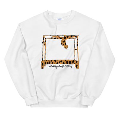 Catwalk Over on Cadillac in Animal Print Sweatshirt