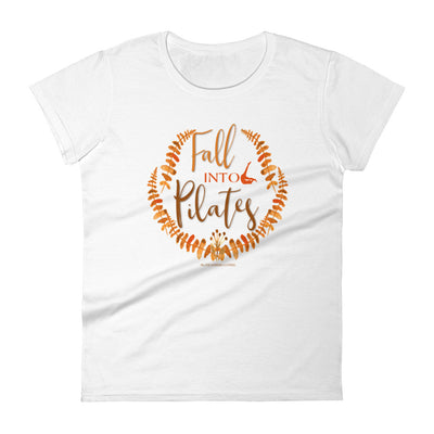 Fall Into Pilates Women's short sleeve t-shirt