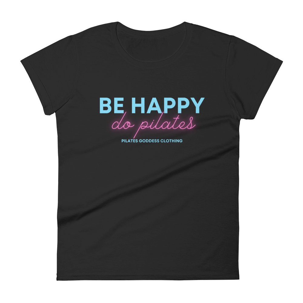 Be Happy, Do Pilates Women's short sleeve t-shirt