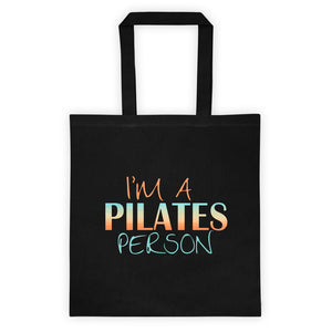 I'm A Pilates Person Tote bag