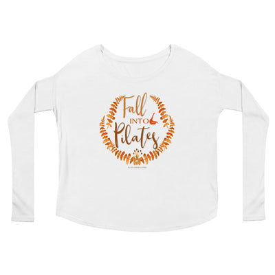 Fall Into Pilates Ladies' Long Sleeve Tee