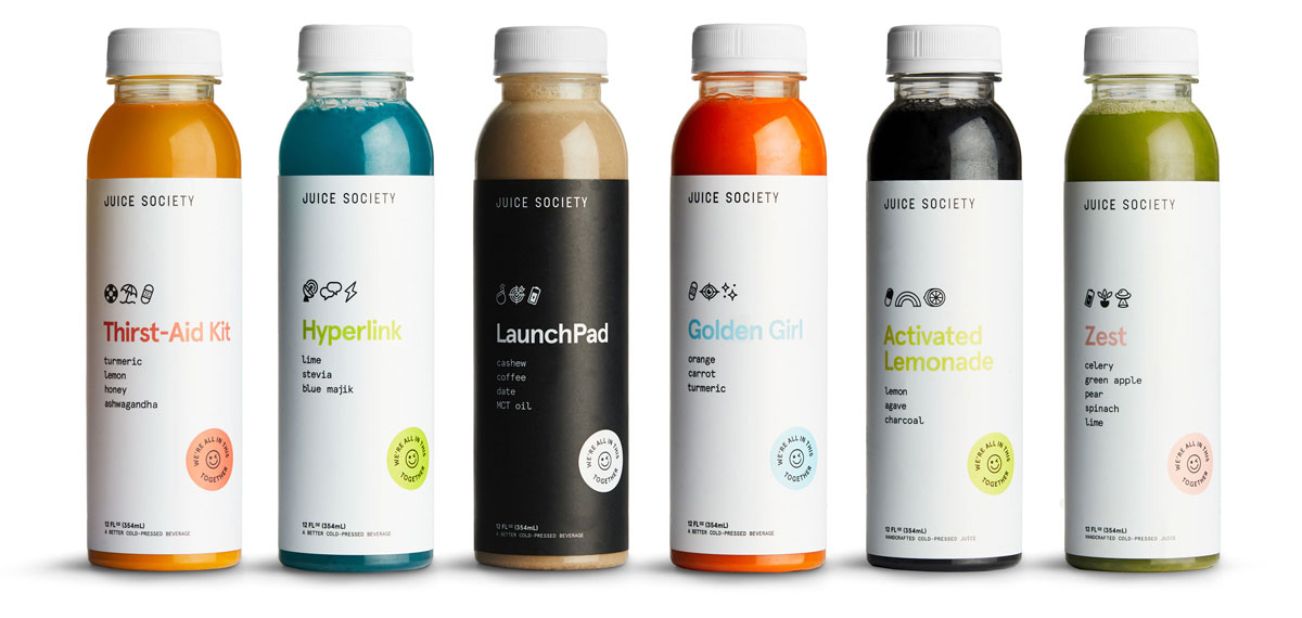 Juice Society Cold Pressed Juices