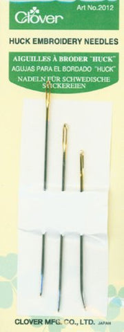 Clover Huck Embroidery Needles