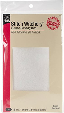 Dritz 225 18-Inch by 1-Yard Stitch Witchery, Regular
