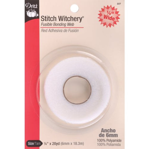 Dritz 227 1/4-Inch by 20-Yard Stitch Witchery, Regular