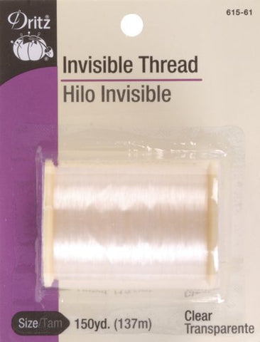 Dritz Invisible Thread, 150-Yard, Clear