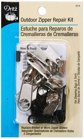 Dritz Zipper Repair Kit- Outdoor