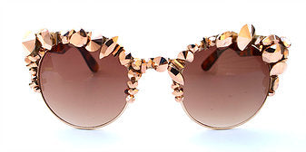 Romantica Coco Gold Sunglasses