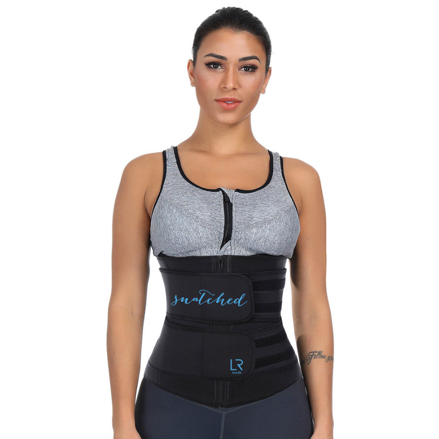 Snatched Waist cinching training belt  by LR live.fit