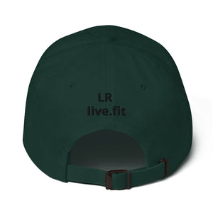 LRlive.fit Yoga Tree pose stix-tionary Dad hat