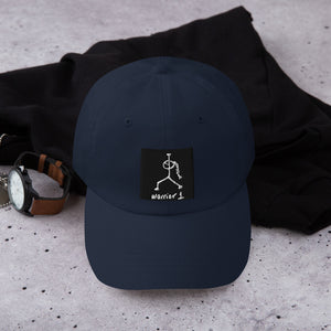 LRlive.fit Yoga warrior pose Dad Hat