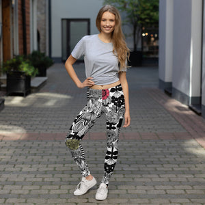LRlive.fit La Flor Leggings