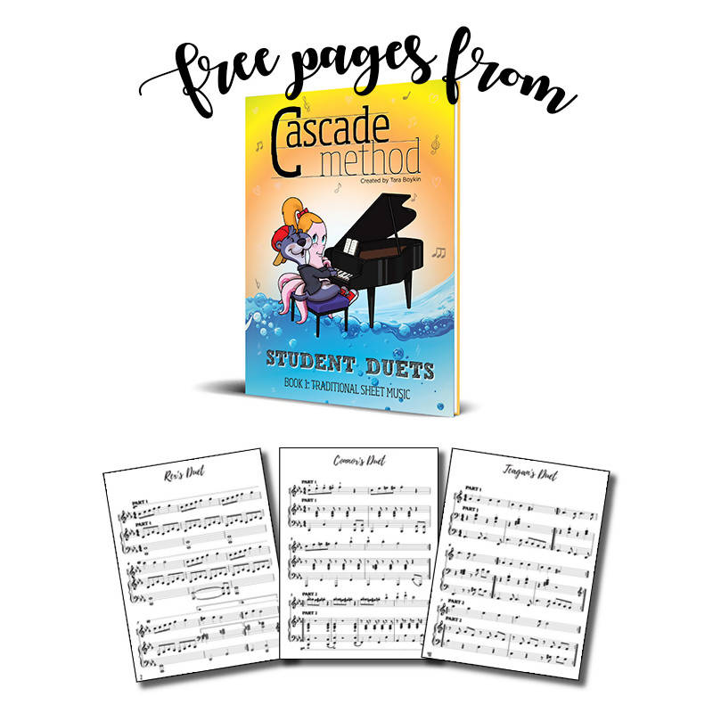 Student Duets Book 1 – Traditional Sheet Music (Free Pieces)