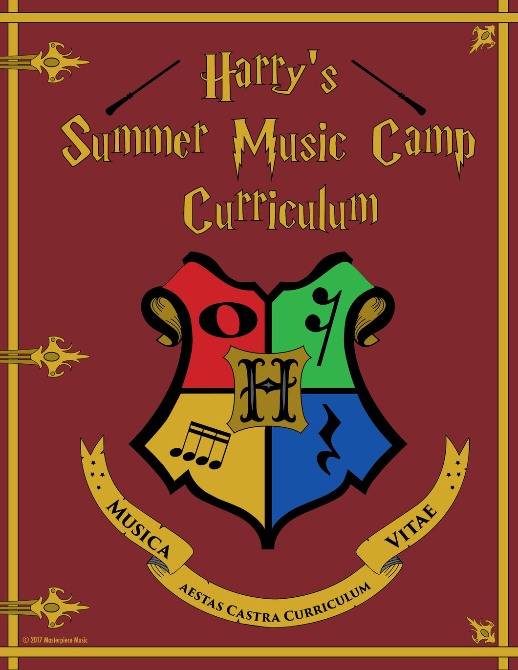 Sample Pages of Harry's Music Camp