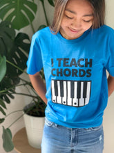 """I teach chords"" t-shirt"