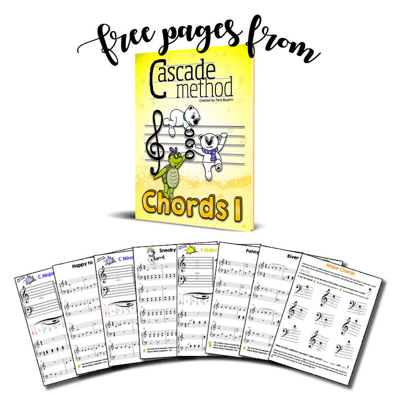 Chords 1 Book (Free Pages)