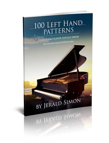 Studio License – 100 Left Hand Patterns Every Piano Player Should Know – PDF download