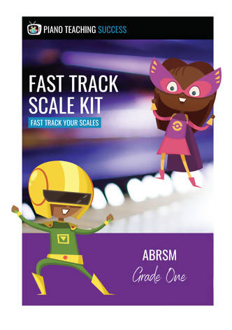 FAST TRACK SCALE KIT - ABRSM GRADE 1