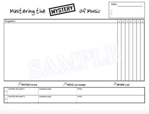 Mastering the Mystery of Music Practice Incentive Theme