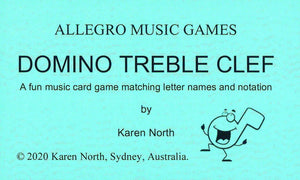 Domino Treble Clef (Digital Download)