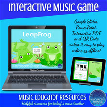 LeapFrog | Keyboard Steps and Skips | Interactive Digital Music Game