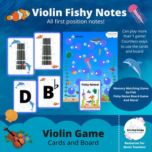 Violin Fishy Notes Game