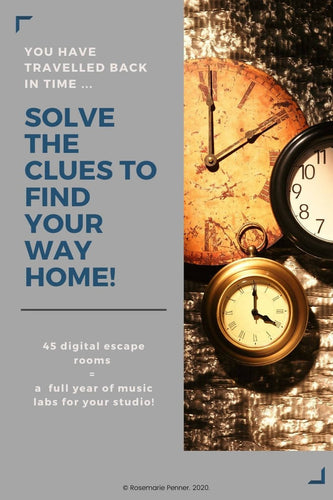 Travel Through Time: Digital Escape Rooms