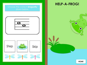 LeapFrog | Staff Steps and Skips | Interactive Digital Music Game