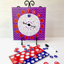 Circle of Fifths Magnetic Dry-Erase Spinner Board