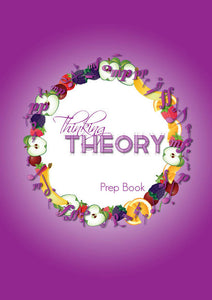 International Version: Thinking Theory Book Prep Book – Reproducible Music Theory Workbook