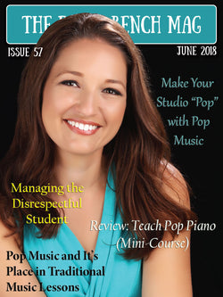 The Piano Bench Mag - June, 2018