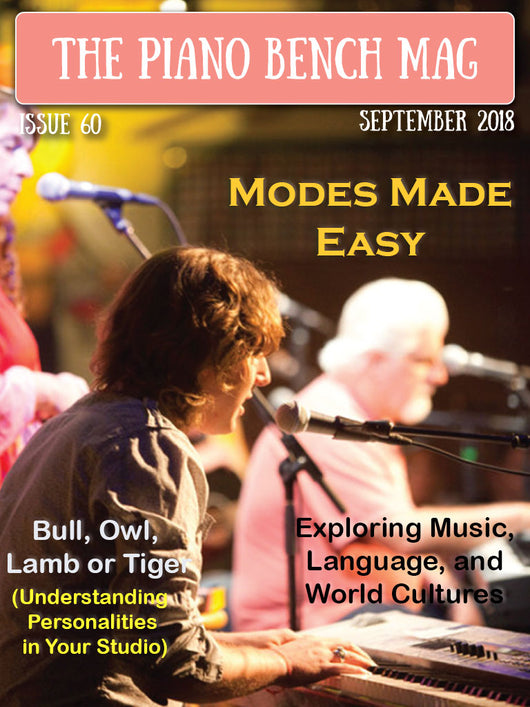 The Piano Bench Mag - September, 2018