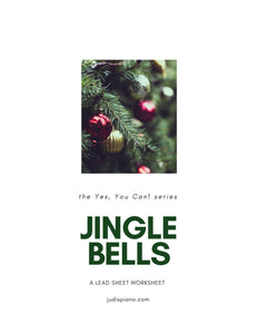 A Lead Sheet Worksheet - Jingle Bells