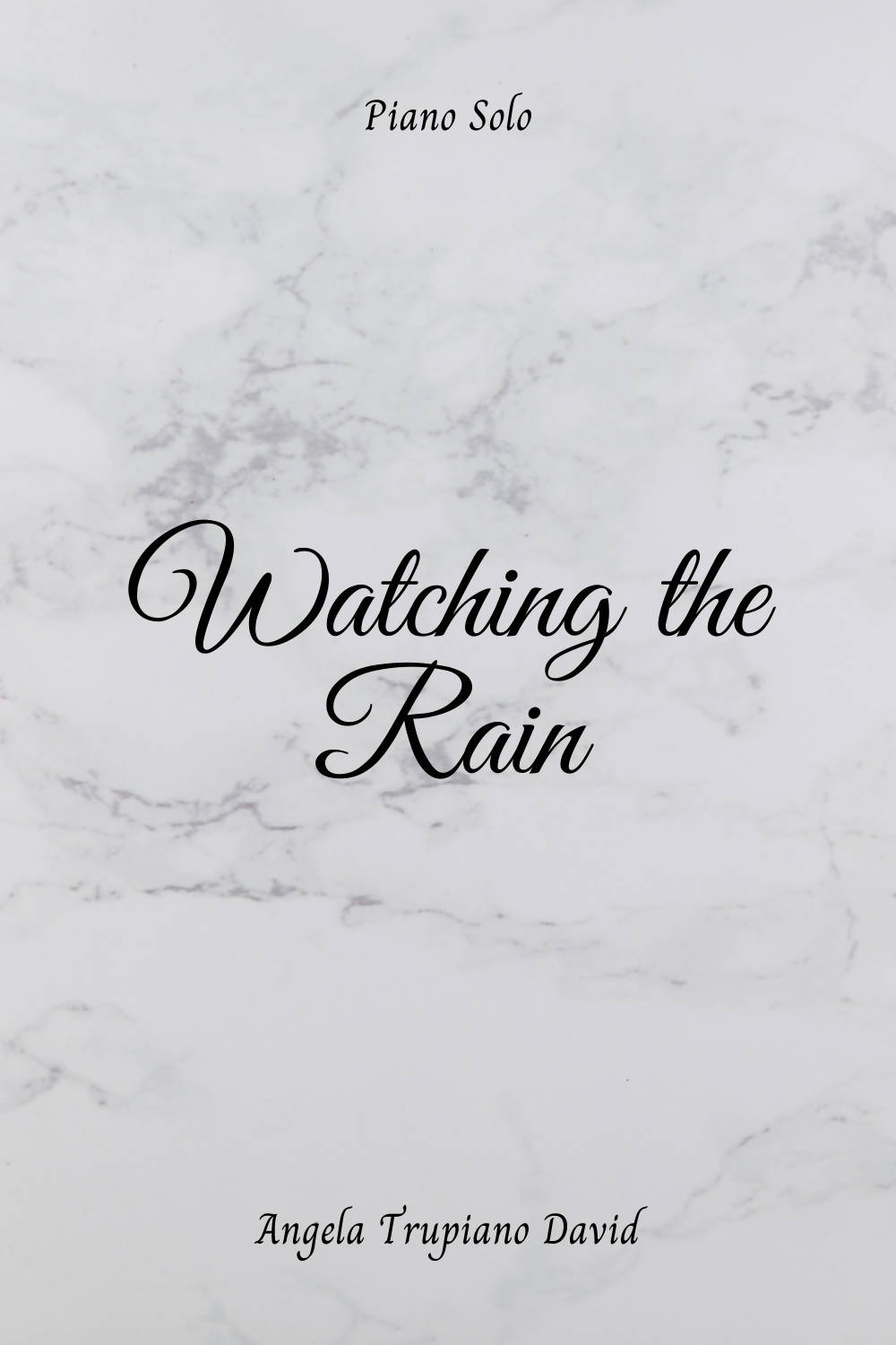 Watching the Rain (Intermediate Piano Solo)