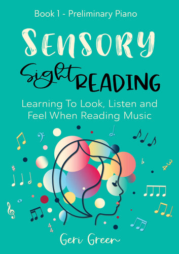 Sensory Sight Reading Book 1 - Studio License International Version