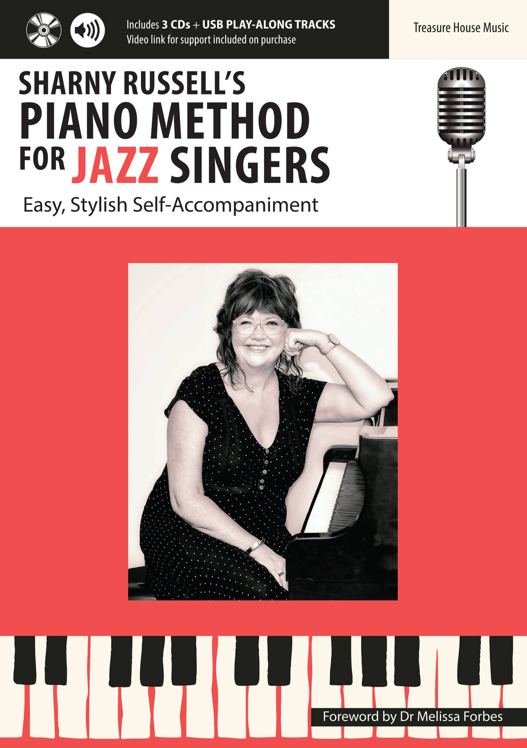 Sharny Russell's PIANO METHOD FOR JAZZ SINGERS