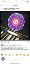 Removable Circle of 5ths Piano Sticker