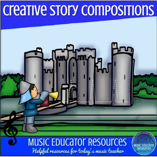 Creative Story Compositions: Medieval Quest (Reproducible)