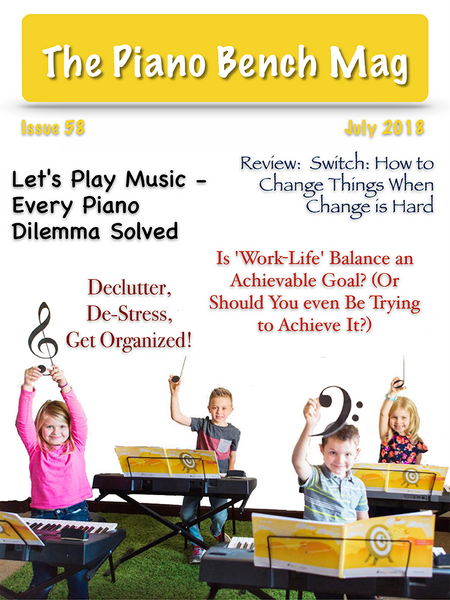 The Piano Bench Mag - July, 2018