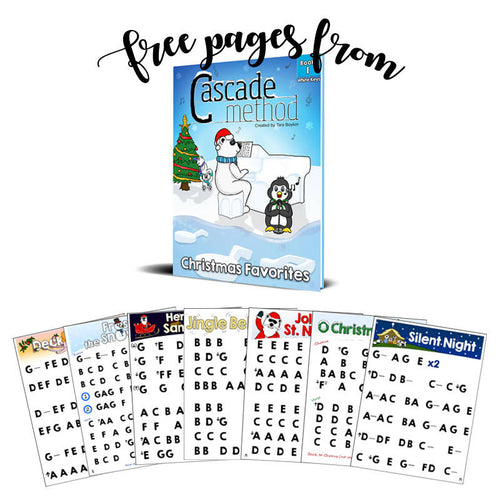 Christmas Favorites Book 1 – White Keys (Free Pieces)