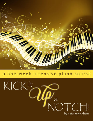 Kick-it-up-a-Notch! A one-week intensive piano course