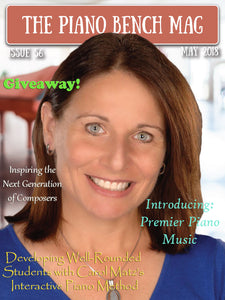 The Piano Bench Mag - May, 2018