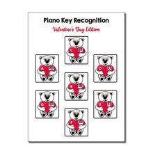 Piano Key Recognition ~ Valentine's Day Edition (Black Dots)