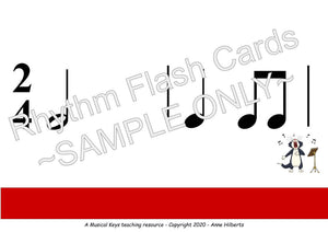 Rhythm Flashcards - Digital & Printable - Complete Level 1 AND 2