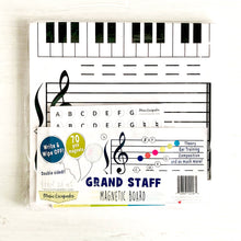 Grand Staff Magnetic Dry-Erase Board